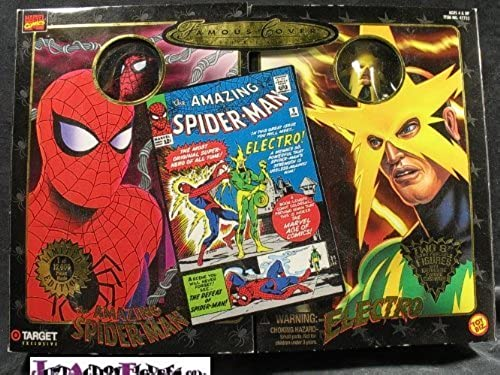Famous Covers Spiderman and Electro by Toy Biz
