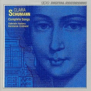 C. Schumann: Complete Songs