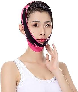 wsbdking Elastische Gezicht Afslanken Bandage V Lijn Gezicht Shaper Vrouwen Chin Cheek Hef Riem Tik op Anti Rimpel Strap G...