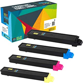 Do it Wiser Compatible Toner Cartridge Replacement for Kyocera Ecosys FS C8520MFP FS C8525MFP FS C8520 FS C8525 TASKalfa 205c 255c - TK-897K TK-897C TK-897M TK-897Y - 4 Pack