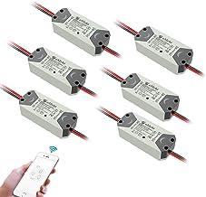 eMylo WiFi Relay Switch Módulo de controle remoto de luz sem fio para automação residencial inteligente Funciona com Amazo...