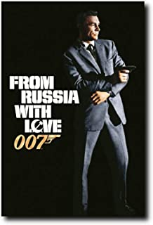 Mile High Media from Russia with Love Movie Poster 24x36 Inch Wall Art Portrait Print - Ready to Frame