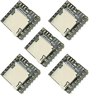 5pcs DFPlayer Mini Mp3 Player Board YX5200 Module Support TF Micro SD Card U Disk Audio Music for Arduino