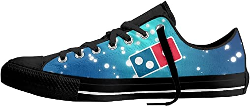 Domino€s Pizza Logo Unisex Classic Canvas Lace Up Shoes Sneakers For Men & Women