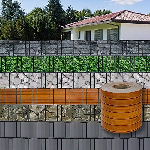 BoJayh Paño De Malla De PVC De Color UV Utilizado for La Privacidad De La Protección UV del Paño De La Cerca De La Cerca del Jardín Tira De Pantalla De Privacidad De PVC (Size : 0.19x25m)