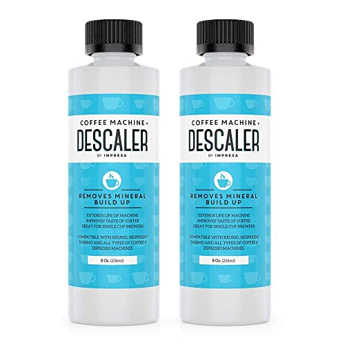 Descaler (2 Pack, 2 Uses Per Bottle) - Made in the USA -