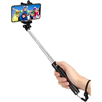 kungfuren Selfie Stick Bluetooth, Professional 50-Hour Long Battery Life, Built-in Remote Camera Shutter Selfie Stick for iPhone 7 Plus All iOS Android Smart Phone