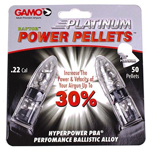 Gamo Air Gun Pellets PBA Platinum .22 Cal. Qty of 50