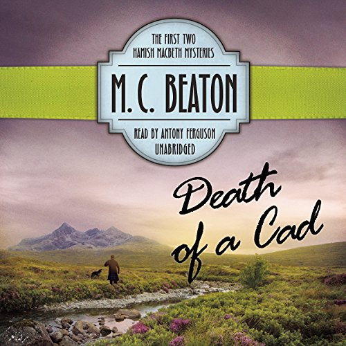 Death of a Cad audiobook cover art