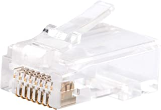 Cable Matters 100-pack Cat 6 Pass Through RJ45 modulära pluggar för fasta eller strängade UTP-kablar / Cat6 Pass Through-k...