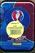2016 Panini Adrenalyn XL UEFA EURO France Factory Sealed Collectors TIN with 4 Booster Packs & Limited Edition Card! Look for Top Stars including Ronaldo, Hazard, Bale, Rooney, Iniesta & Many More!