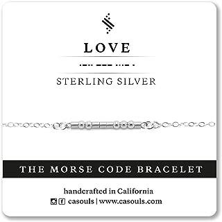 custom morse code necklaces