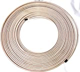 50 Ft. Roll of 1/4' Copper Nickel Brake Line Tubing