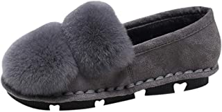 HebeTop Women's Closed Back A-Line Slipper with Skid -Resistant Rubber Outsole