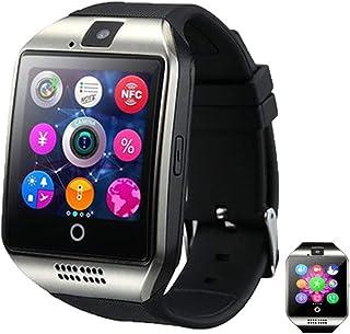 APCHY Smart Watch, Monitores De Actividad La Pantalla Curvada Curvada Pulsera Inteligente para Las Llamadas Telefónicas De Tarjeta Bluetooth De Los Hombres con El Monitor De Ritmo Cardíaco