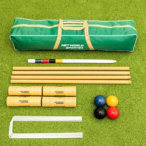 Harrier Krocket Set (Garten/Erwachsene Profi) - Outdoor-Spiel - Spiele für draußen (Garten Set)