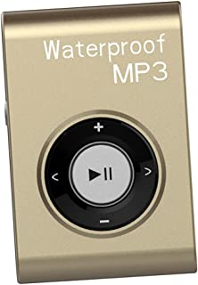 BAOBLADE Waterproof Mp3 Music Player FM Radio USB with in-Ear Earphone Multiple Color Durable - Gold