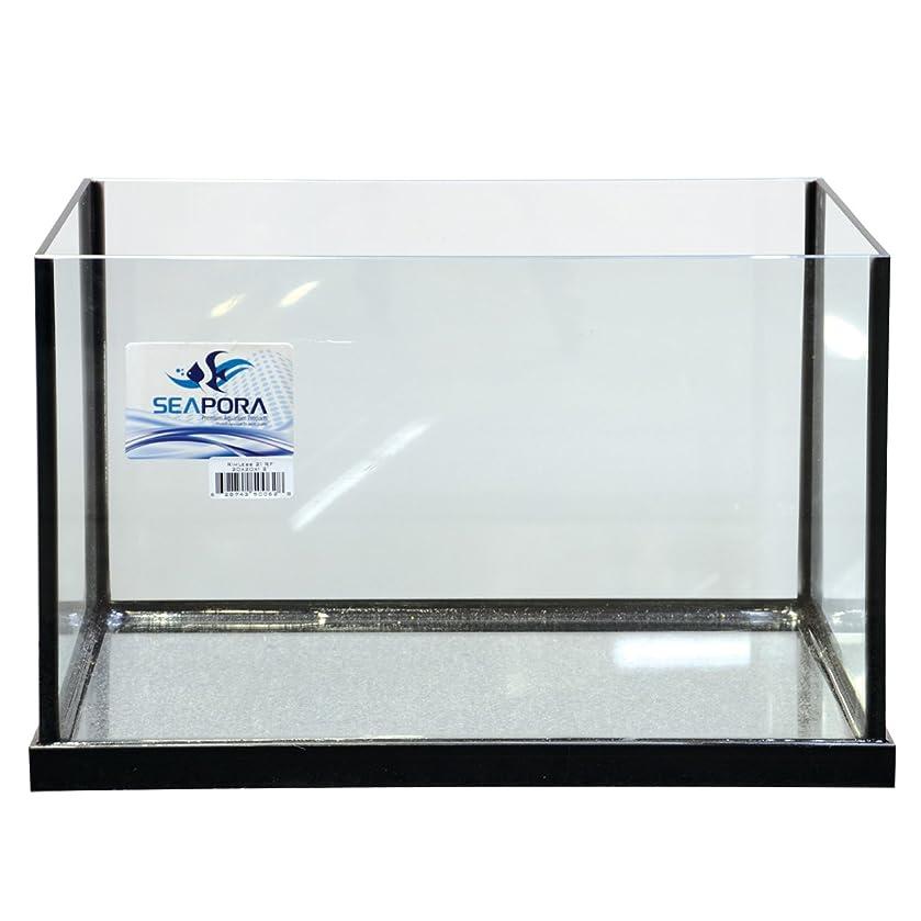 Seapora 56013 Rf Series Rimless Frag Aquarium, 21 Gallon