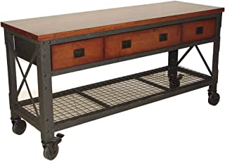 Duramax Rolling Workbench Furniture 72 in. x 24 in. with 3 Drawers, for Home, Garage, Workshop