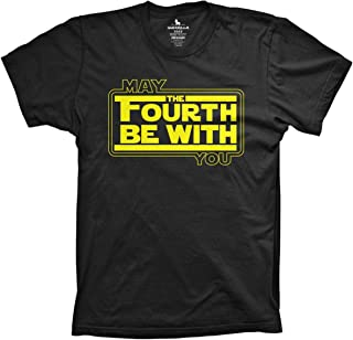 May The Fourth be with You Shirt Funny sci fi Movie Shirts