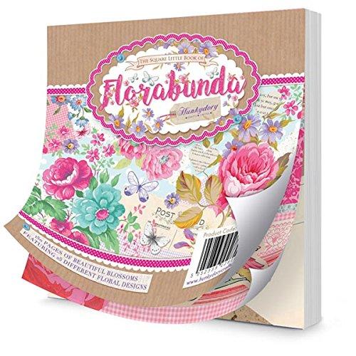Hunkydory die quadratische Little Book Of Florabunda