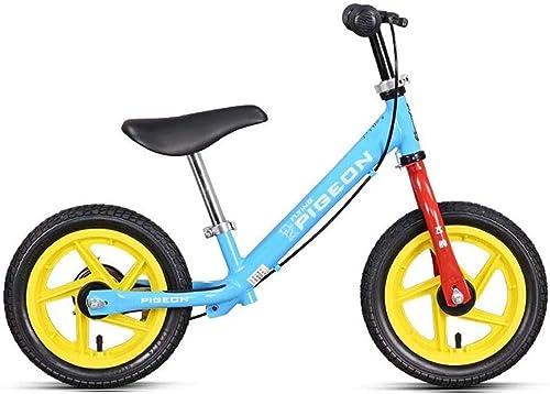 tienda hace compras y ventas Felices juntos juntos juntos Balance Bike azul, Sport Balance Bicycle Equilibrio Infantil 2-6 años Bebé con Frenos Neumático Neumático Slide Car Yo Car Kids Slide Car ( Color   azul )  con 60% de descuento