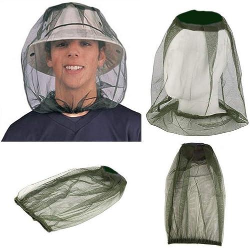 Ogquaton Fishing Hats Cap de plein air Hiking Wilderness Camping Anti-mosquito encapuchonné Mosquito Cap
