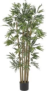 Nearly Natural 5280 Multi Bambusa Bamboo Silk Tree, 4-Feet, Green