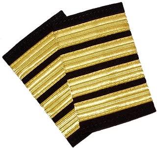 Uniform Epaulets - Professional Pilot Uniform Epaulets - Four Bars - Captain