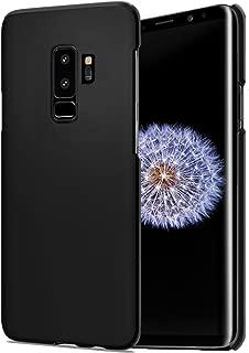 CELLBELL®Samsung Galaxy S9 Plus (Black Matte) Rubberized Matte Hard Back Cover Case