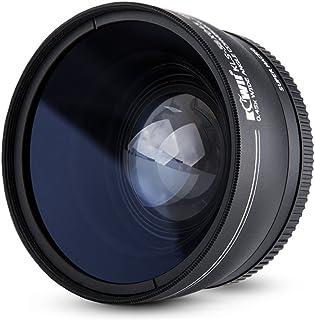 Kiwifotos 52mm 2in1 0.45X Wide Angle Lens+10X Super Marco Lens for Canon, Nikon, Fujifilm (KLS-52X045)
