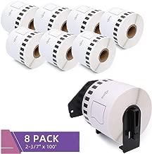 DK-2205 Fimax Compatible Continuous Tape Labels 2-3/7