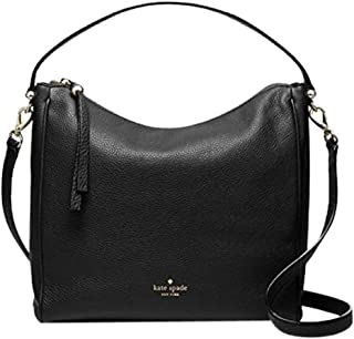 Kate Spade Charles Street Small Haven Black Leather Cross-body Bag