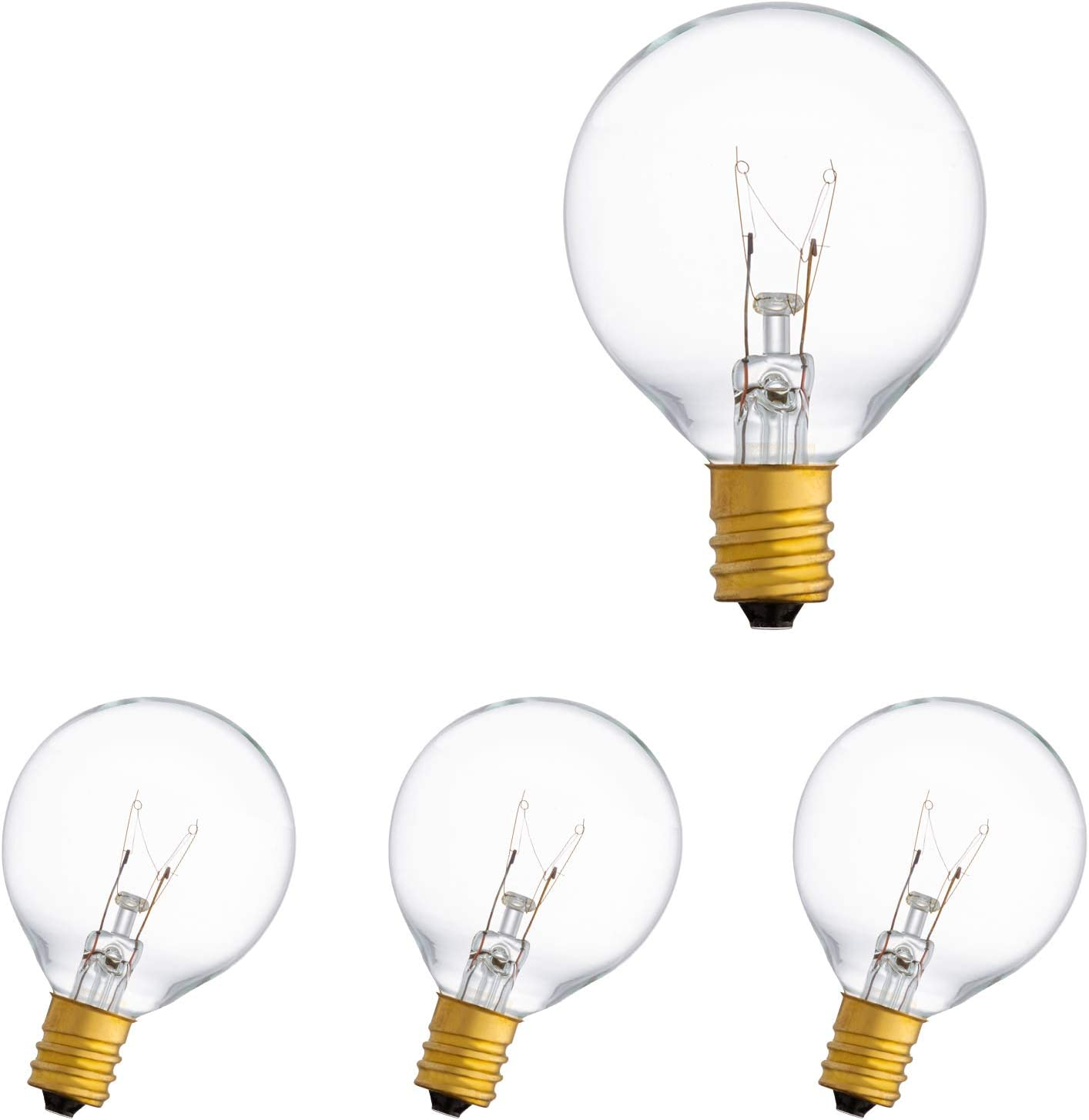 Recommended Super beauty product restock quality top Amico G40 Incandescent Bulbs 4 Replacement Pack