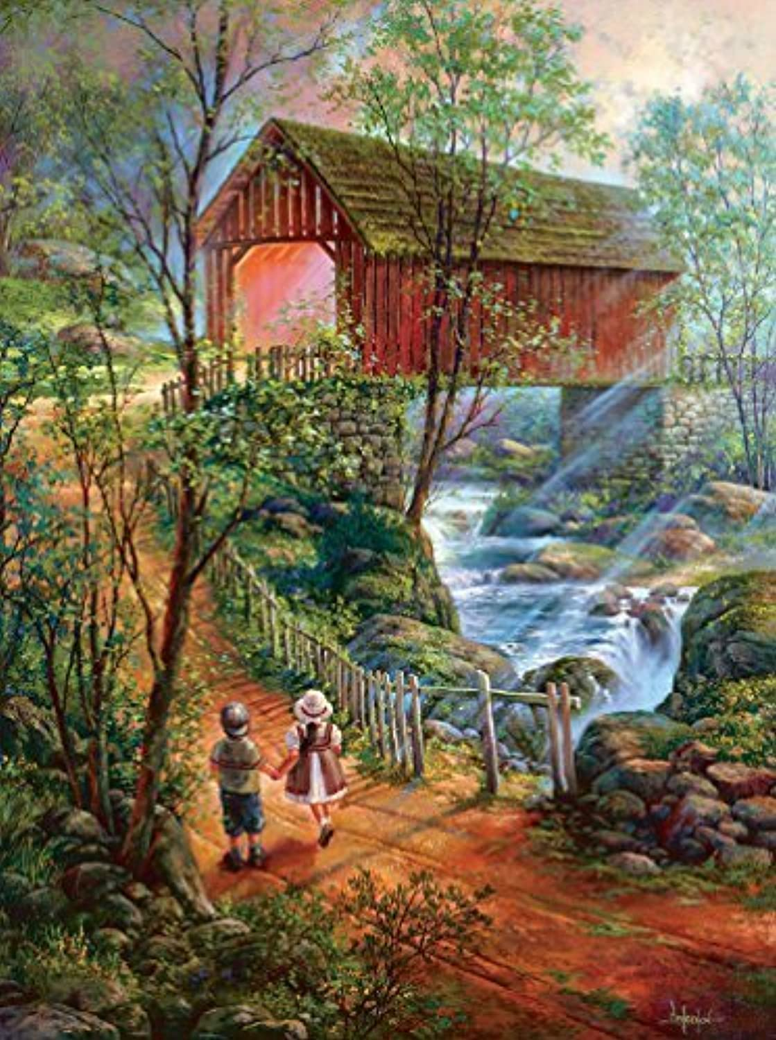 The Crossing  A 1000 Piece Jigsaw Puzzle by SunsOut by SunsOut