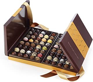 Godiva Chocolatier Ultimate Chocolate Truffle 80 Piece Collection Holiday Gift Box, 3.5 lbs