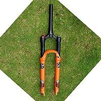 """VHHV 26"""" 27.5"""" 29""""自転車フロントフォークVHHVサスペンション空気システム1-1 / 8""""トラベル120mm (Color : Conical tube, Size : 27.5 inch)"""