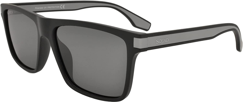 SQUAD Gafas de sol Polarizadas Cuadradas hombre mujer Adulto Clásico casual protección UV400