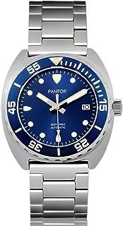 Montre de plongée Pantor Sealion Montres Bracelet pour Homme Professionnelle Analogique Automatique 300M Résistant pour en...