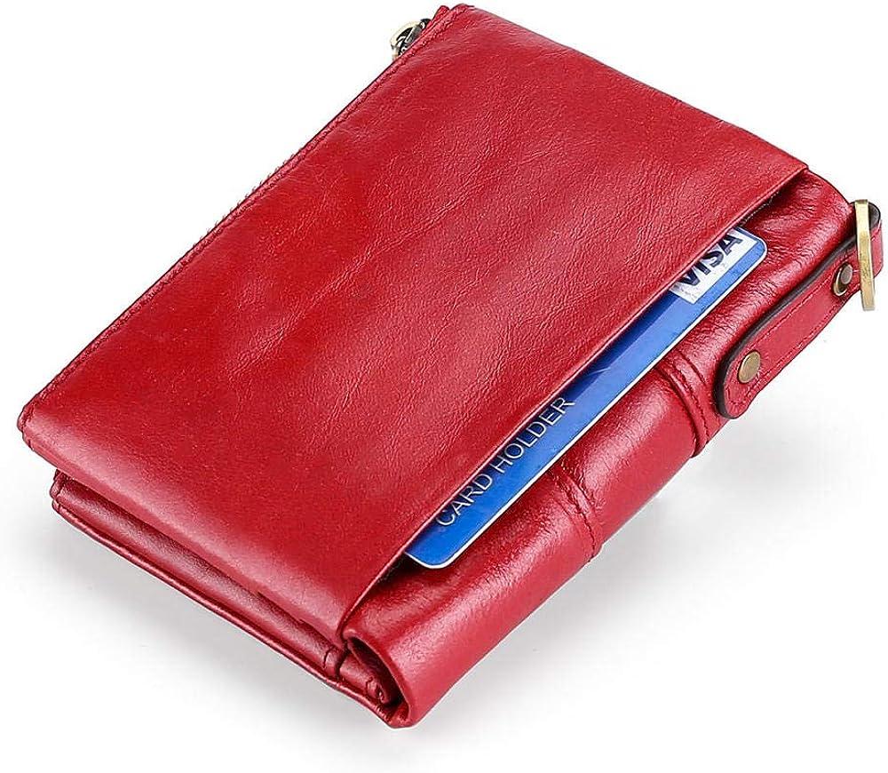 Tangqin, portafoglio per donna in pelle, con portamonete 9872873480507
