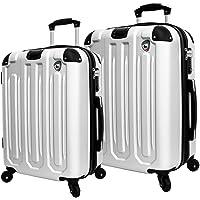 2-Piece Mia Toro Italy Regale Hardside Luggage Set