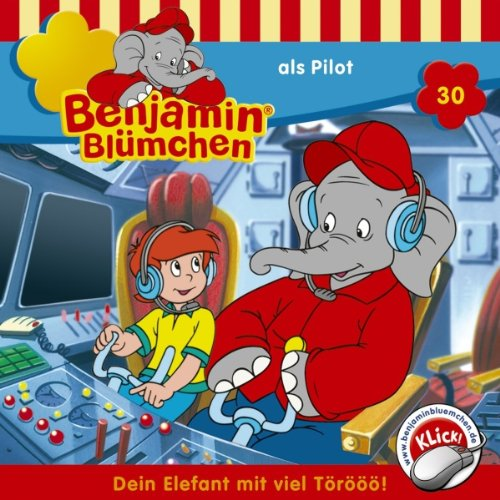 Benjamin als Pilot audiobook cover art