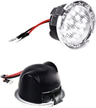 MOFORKIT Side Mirror Puddle Lamp LED Light Assembly Compatible with Ford F150 Edge Explorer White