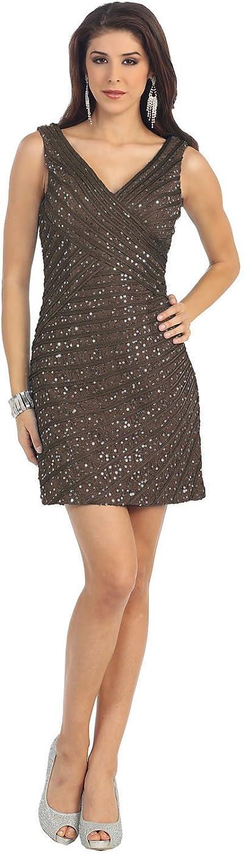 US Fairytailes Womens Formal Elegant Evening Dress