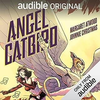 Angel Catbird audiobook cover art