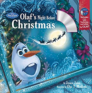 Olaf's Night Before Christmas Book & CD (Disney Frozen)
