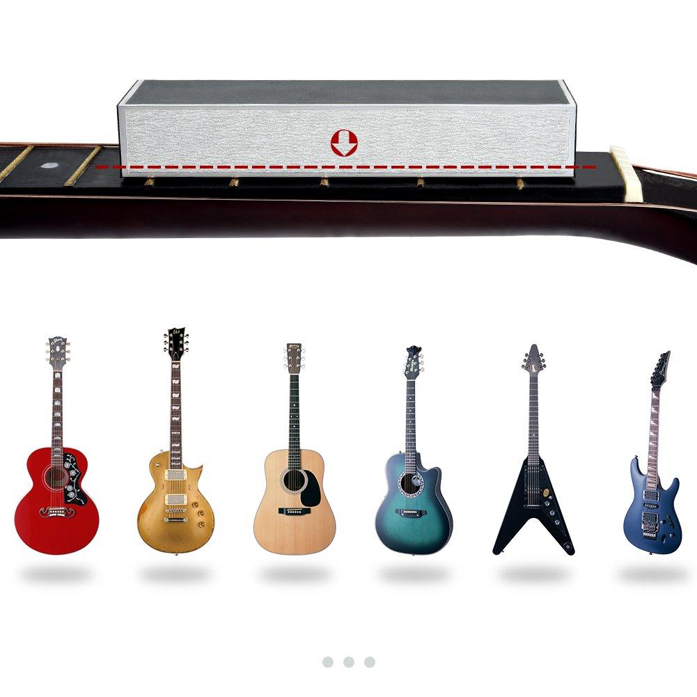 IRICH - Kit de medición y pulido para guitarra con luthier Guitar ...