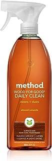 Method Daily Wood Spray 28oz, Almond 2 Pack