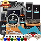 Best Beard Oil Kits - Beard Care & Grooming Kit w/Free Beard Soap,Unscented Review