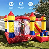 YARD Bounce House with Slide Obstacle Bouncer 0.4mm Vinyl Thick Material Children Outdoor Jump Castle w/Heavy Duty Blower